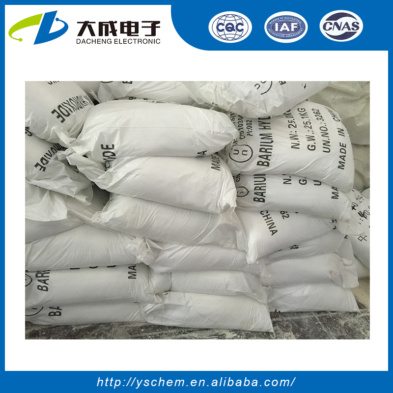 white pewder 98% Barium hydroxide monohydrate,Manufacturer supply
