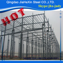 Famous prefabricated light steel structure warehouse construction for sale