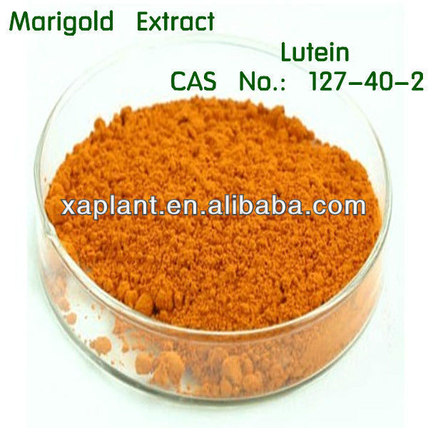 lutein powder/xanthophyll/zeaxanthin/pigment/marigold extract/additive
