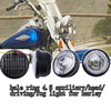 Heated goods widely used halo ring led bulb head light for harley davidson