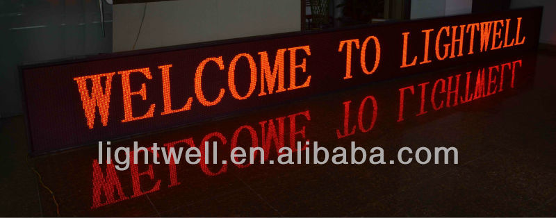 alibaba China Wholesale 16*32 P10 Outdoor led display/sign Module 1R