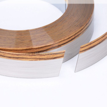 plastic wood grain pvc edge strips