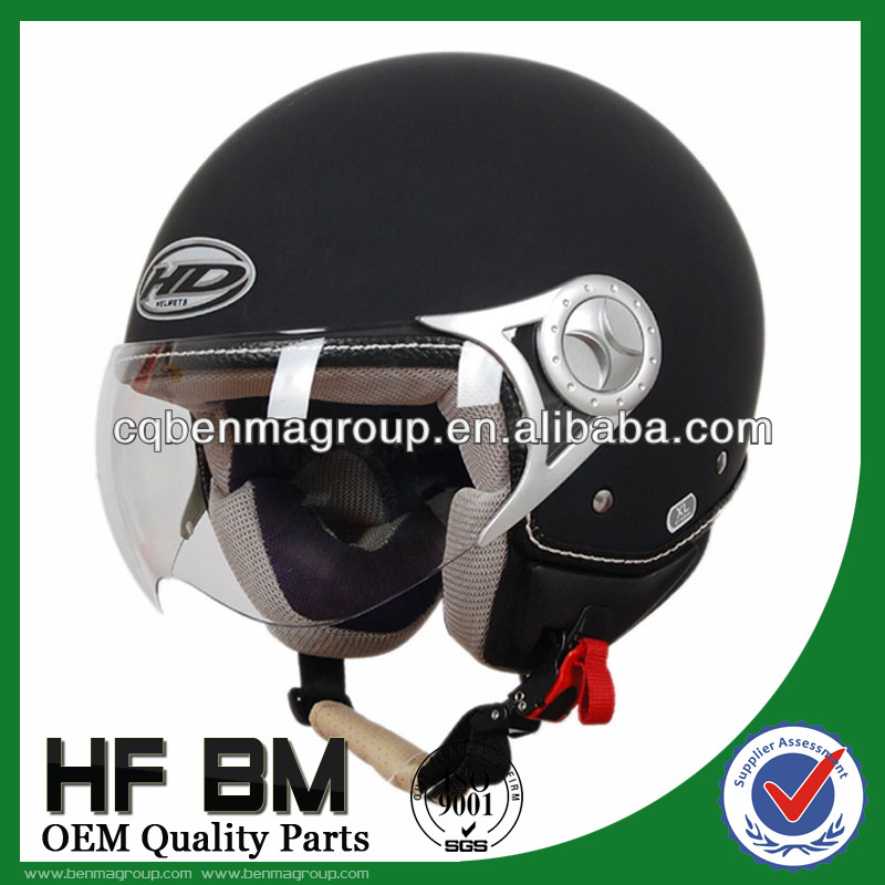 ECE Motorcycle Helmets Black Color, High Safety Helmet for Motorcycle, Best Helmet Half Face Wholesale!!