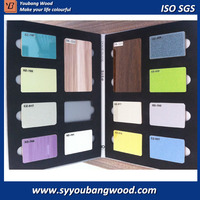 Standard size high glossy UV faced MDF / UV melamin MDF board for sale