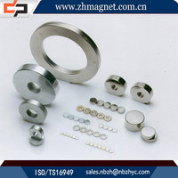 small radial magnetization ferrite multipole magnets with ring