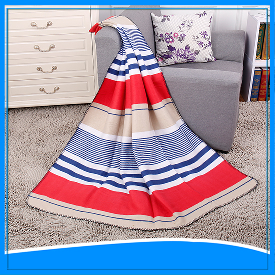 cheap wholesale 100% polyester super soft printed san marcos blankets