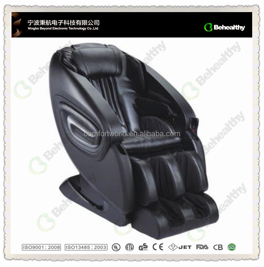 2016 Newest Real <strong>Health</strong> 3D Zero Gravity Sex Full Relax Body Massage Chair with Waist Heating Functional Remote Control CM-165
