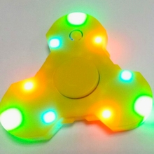 Rechargeable bluetooth Music fidget hand spinner ,LED light fidget hand spinning toys