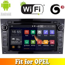 Pure android 4.4.2 system touch sreen car dvd gps navigation fit for OPEL with radio bluetooth wifi support 3G