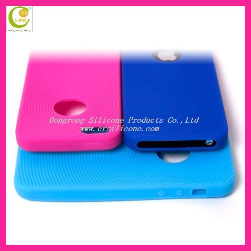 New creative silicone soda cracker pattern cheap case for iphone5