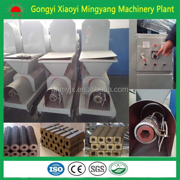 High quality CE approved wood sawdust briquettes manufacturing machines charcoal briquette extruder machine 008618937187735