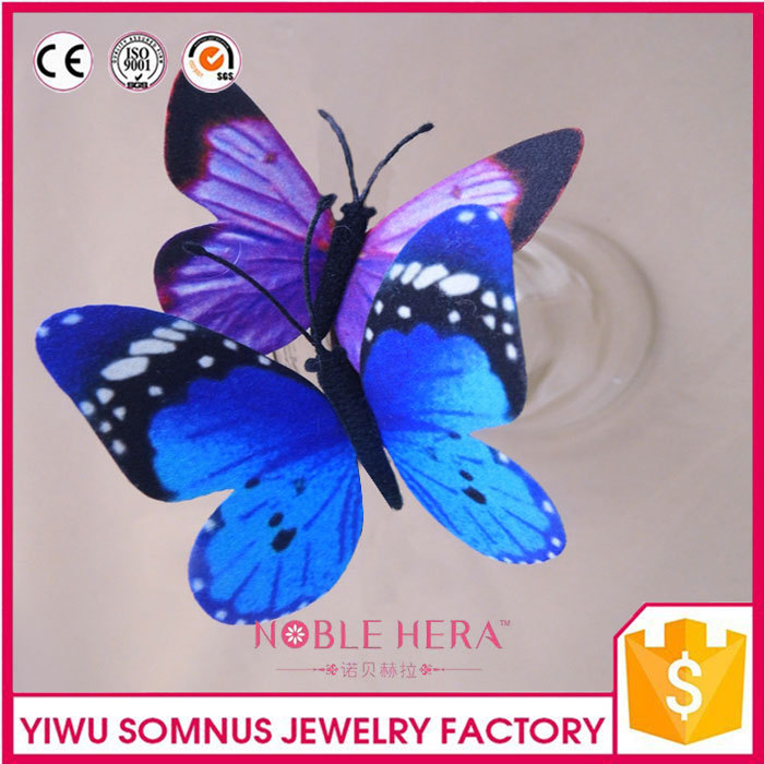 11 CM Large Blue Butterfly for Home Wall Decoration