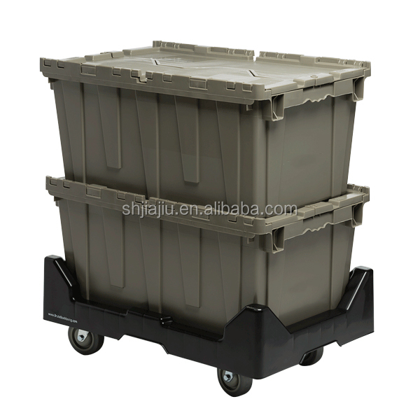 70L stackable plastic vegetable bins plastic transparent bin