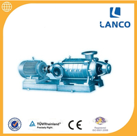 Multistage horizontal centrifugal water pump with with Industrial diesel eingine