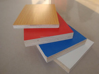 2.0mm-30mm plain MDF&colourful melamine MDF