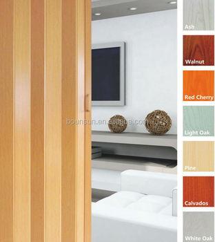 PVC folding door ,plastic accordion door ,sliding door, View pvc ...