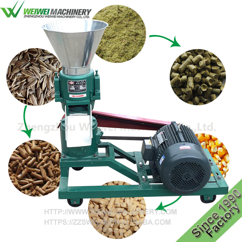 Weiwei animal feed pellet 60-80kg pellet straw