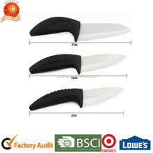 2014 New Coming Ceramic knife with ABS handle packed in Blister card
