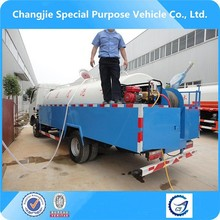 Hot sale dongfeng 5-6m3 high pressure cleaning vehicle,drainage flushing truck