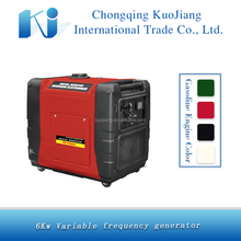 Heavy duty inverter 6KW silent gasoline generator for sale