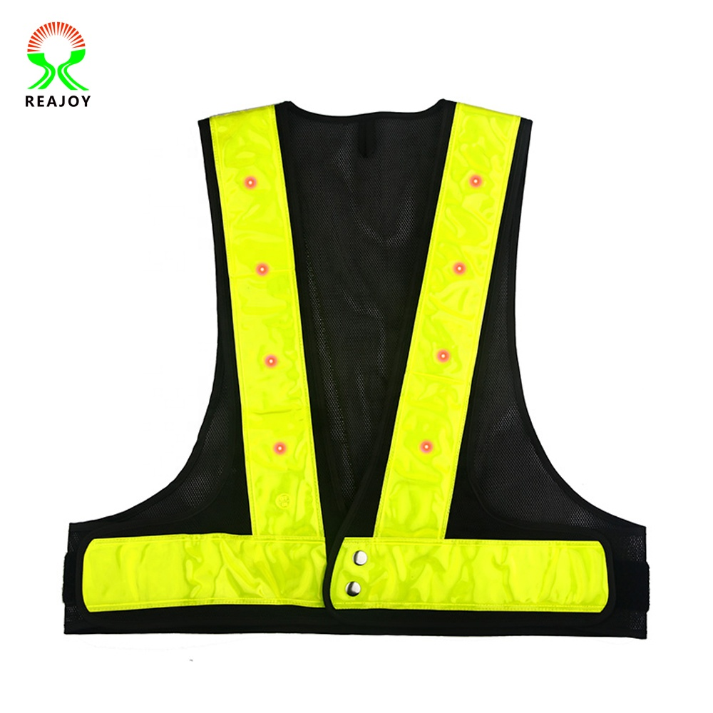 New Japanese Style Reflective <strong>Safety</strong> LED Mesh Hi Vis vest