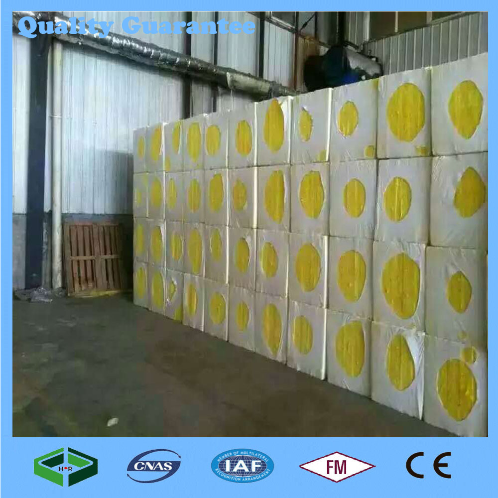High Density Fireproofing Building Material Insulation glass wool panels For Sale
