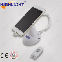 Cell Phone Display Security System with charging and alarm function
