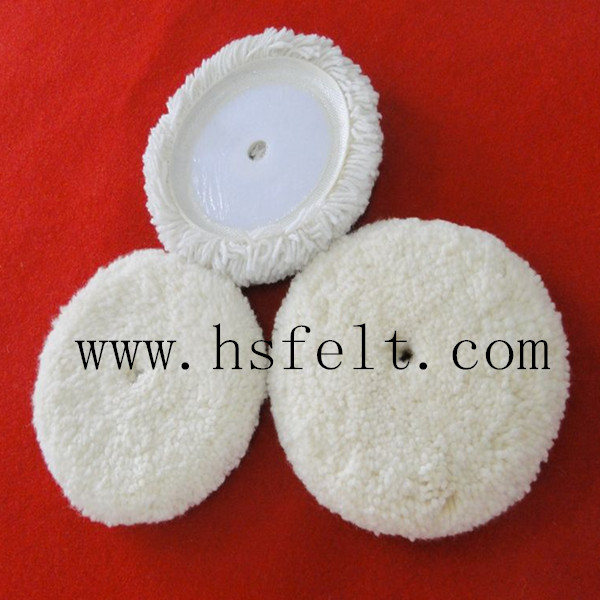 auto buffing 100% natural wool pad