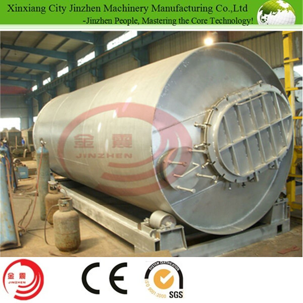 China Best Selling Waste Tire and Plastic Pyrolysis Plant to get fuel oil with high quality