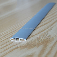 New design aluminum edge profile curved cabinet door edge profile