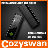 Cozyswan MK809 Android 4.1 Network media player UG802