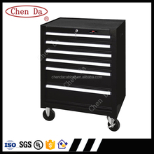 6 drawer ball bearing slide toolbox/tool trolley/tool cabinet