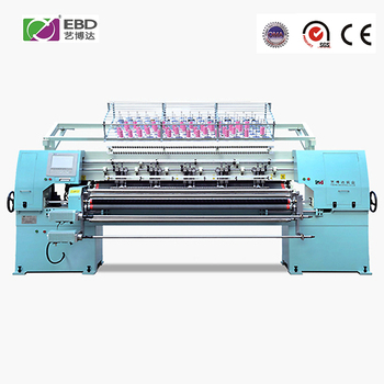 YBD64- 2 Model High Performance high speed Full Automatic multi needle quilting machine