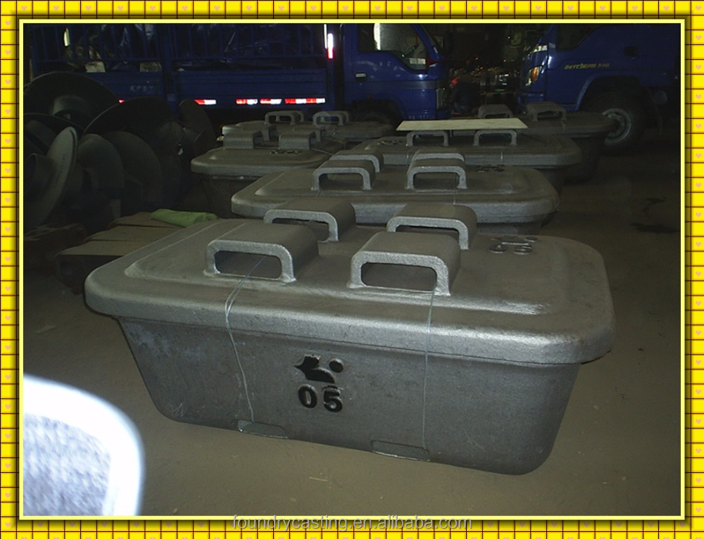 alloy steel skid pan , dross pan slag pan sow mold aluminium industry castings