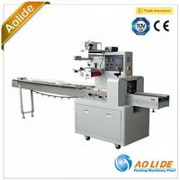 Sami-auto plastic bag making Metal Spare Parts Flow Packaging Machine