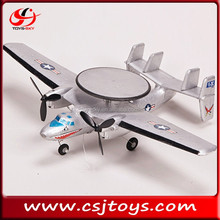 Hot sale 2CH RC airplane AWACS Falcon Jet E-2 jet engine model airplane