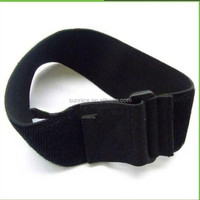 hook and loop elastic adjustable sport armband strap