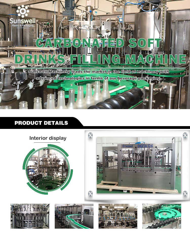 Carbonated Soft Drink Filling Machine Manufacturers