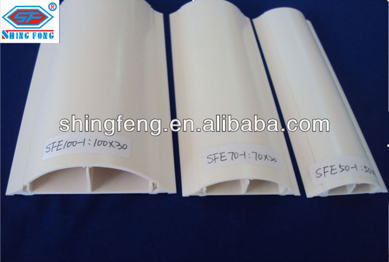 Plastic Floor Cable Channel