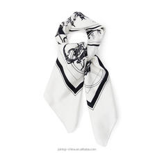 Made in China wholesle plain white silk scarves for painting