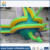 Hot design amusement park giant dinosaur water slide for kids and adults