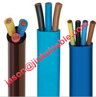 Factory price flex flat ribbon cable For oil well