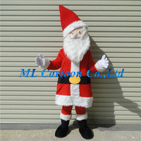 New developed customized Santa Claus adults mascot costume for Christmas carnival