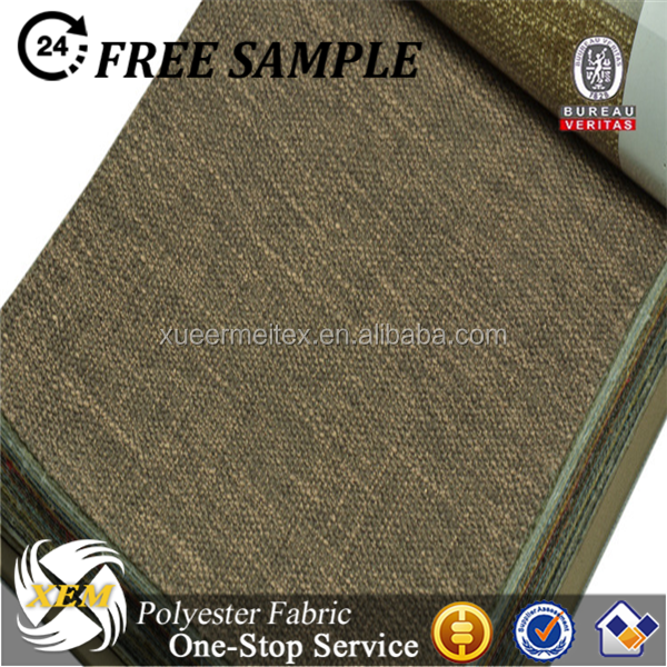 Cheap wholesale polyester sofa fabric imitation linen fabric for sofa upholstery