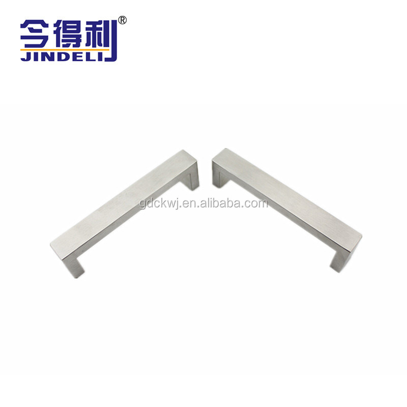 Furniture Hardware Bedroom Drawer Cabinet Door Square Metal Pull Handle