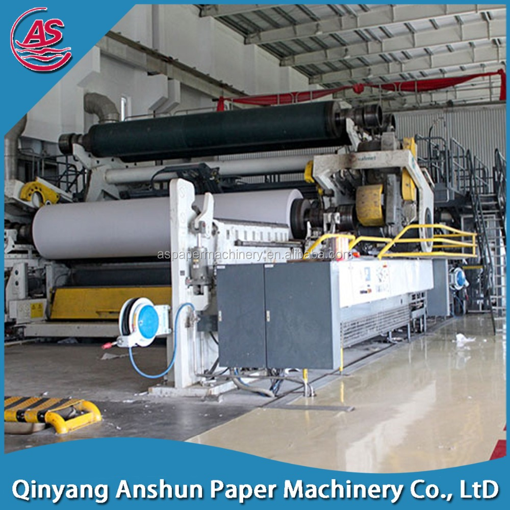 copy paper news printing paper making machine with compective price