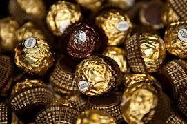 sweet milk ferrero rocher chocolate