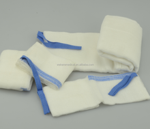Medical 100% cotton bleached unwashed or washed lab sponge/abdominal pad