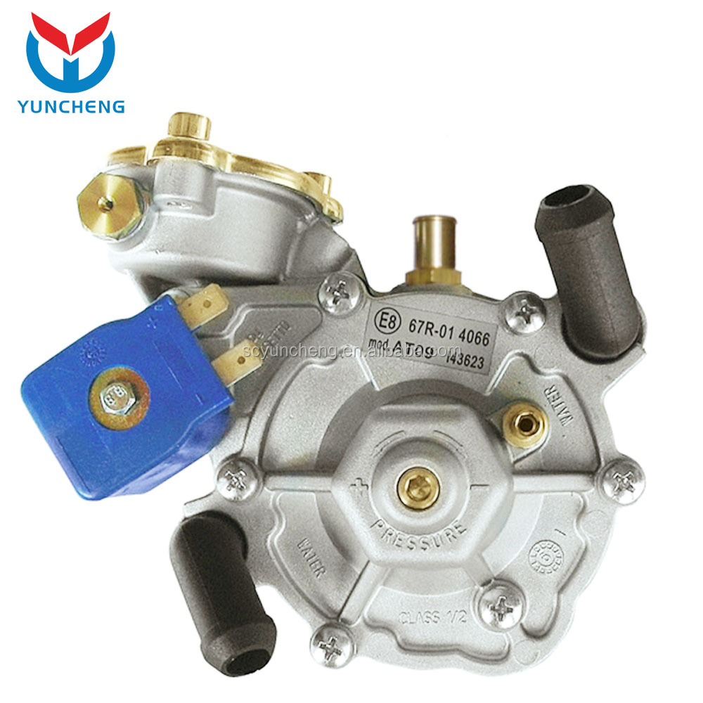 YCR07010 Cng Lpg Gas Conversion Kit Redcuer Regulator