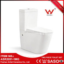 New Product 2017 Hospital Wc Two Piece Washdown Girl Toilet